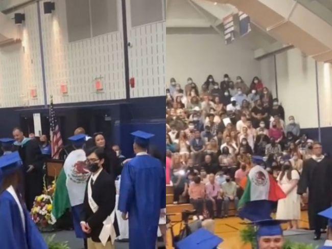 Video: Študentovi odmietli odovzdať diplom. Toto si obliekol na promócie