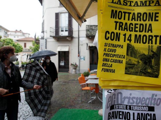 Chlapca, ktorý prežil pád lanovky, prepustili z nemocnice v Turíne