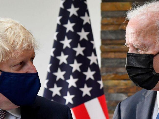 Biden a Johnson podpísali novú Atlantickú chartu