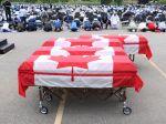 Muža, ktorý usmrtil členov moslimskej rodiny, obžalovali z terorizmu