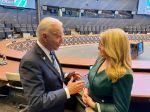 Čaputová: Biden na summite NATO ocenil pokrok Slovenska