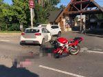 Pri nehode na Zemplínskej šírave zahynul 47-ročný motocyklista