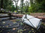 Intenzívne búrky zapríčinili na severozápade Slovenska energetickú kalamitu