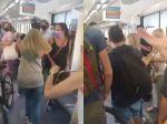 Video: Muž si vo vlaku nechcel nasadiť rúško, pasažieri ho vyštvali von