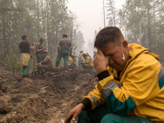 Putin zhodnotil situáciu v súvislosti s lesnými požiarmi v Rusku