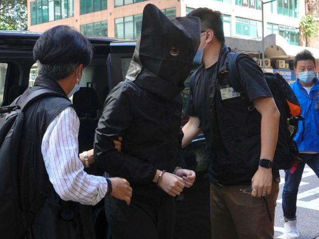 Piatich Hongkončanov zadržali pre sériu