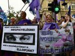 V Budapešti protestovali proti podozreniam súvisiacim so systémom Pegasus