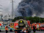 Video: Chemickým závodom v Nemecku otriasol mohutný výbuch