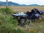 Pri dopravnej nehode zomrel 29-ročný vodič