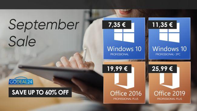 Kúpte si lacný Windows 10 za 7 € a v októbri ho inovujte na Windows 11!