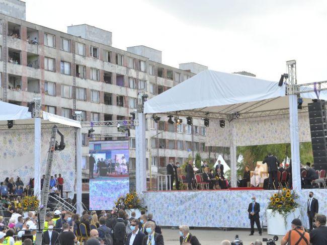 Svetové médiá zaujala Františkova návšteva sídliska Luník IX