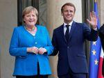 Macron a Merkelová sľubujú úzku spoluprácu až do vytvorenia novej nemeckej vlády