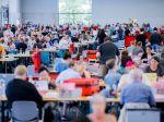 Svoj hlas vo voľbách v Nemecku odovzdali všetci hlavní kandidáti na kancelára
