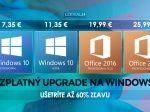 Bezplatná aktualizácia systému Windows 11. Jeseň plná výpredajov: Windows 10 Pro od 5,67 €