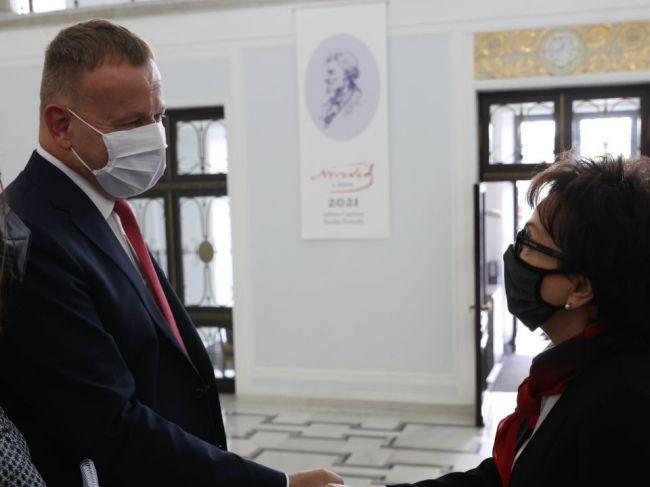 Boris Kollár v Poľsku hovoril o medziparlamentnej spolupráci, covide i EÚ