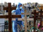 Rusko po prvý raz od vypuknutia pandémie hlási vyše 1000 obetí covidu