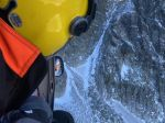 Pád muža vo Vysokých Tatrách si vyžiadal zásah vrtuľníka