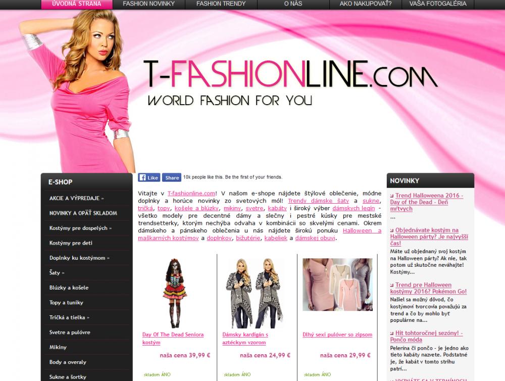 """d31aed4ea Inšpekcia varuje aj pred e-shopom spoločnosti T-fashiononline, s.r.o.,  Selce. Denník na to upozornil v článku s názvom """"Pozor, podvodné e-shopy!"""
